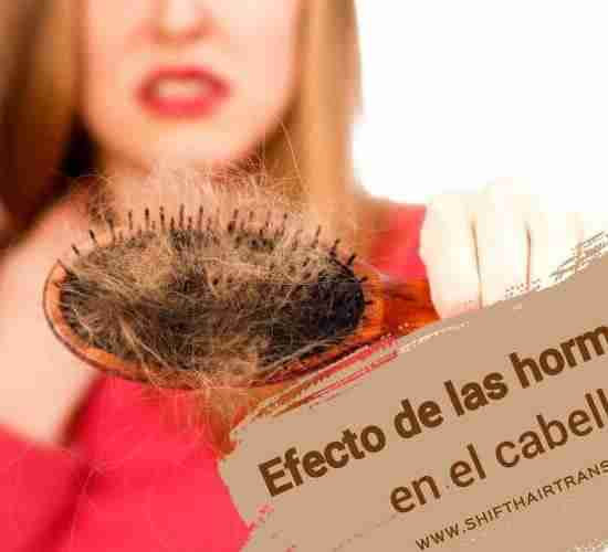 Efecto de las hormonas en el cabello,