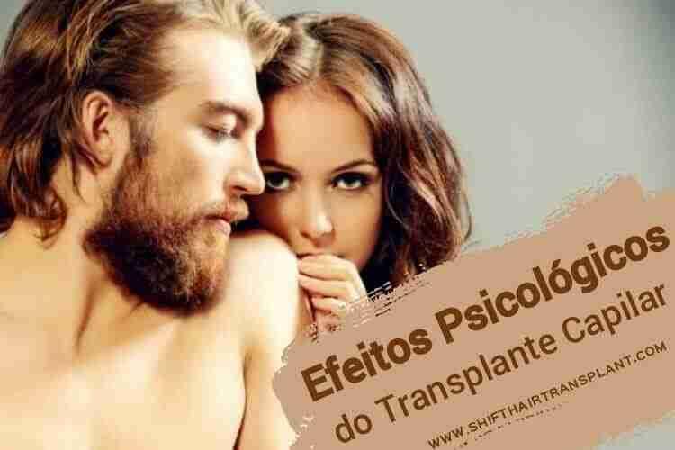 Efeitos Psicológicos do Transplante Capilar, Uma mulher loira colocando o dedo nos lábios de um cara bonito, com cabelos grossos.