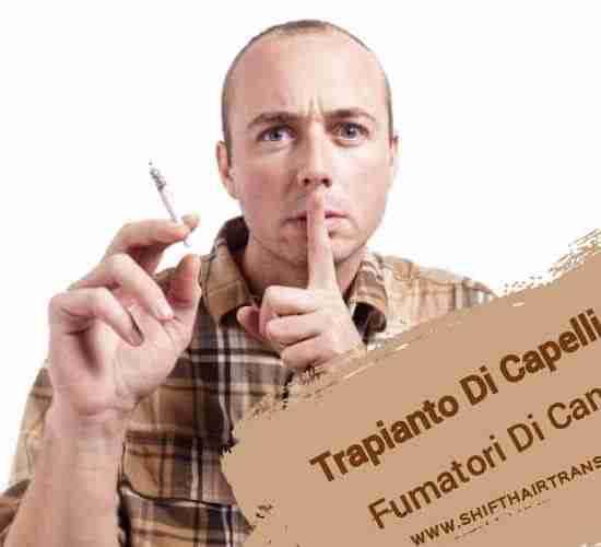 Trapianto Di Capelli Sui Fumatori Di Cannabis,