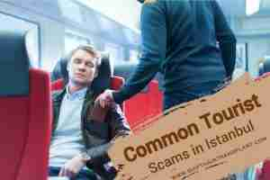 IstanbulCommon Tourist Scams, a man getting robbed at an airplane.