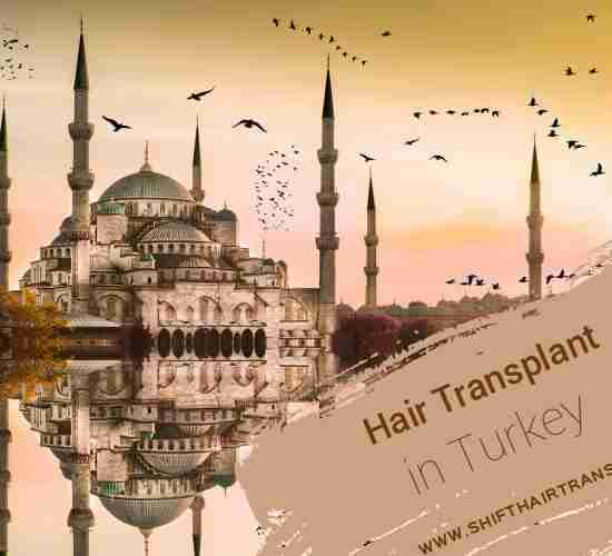 Turkey Hair Transplant, birds flying over Hagia Sofia museum in Istanbul.