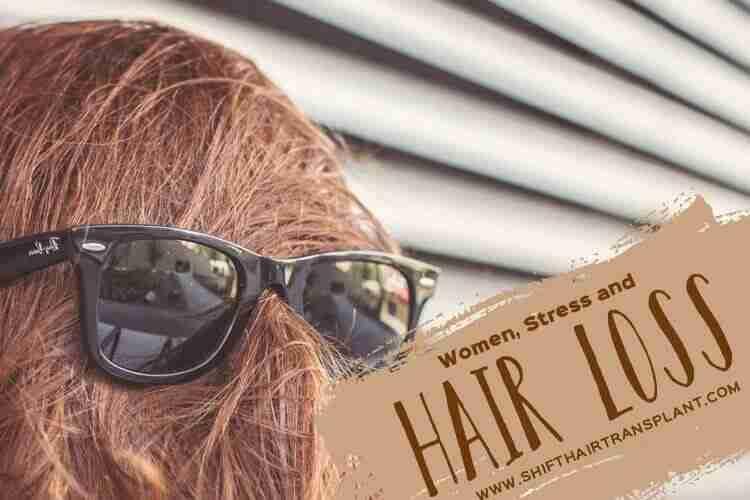 Women Stress Hair Loss