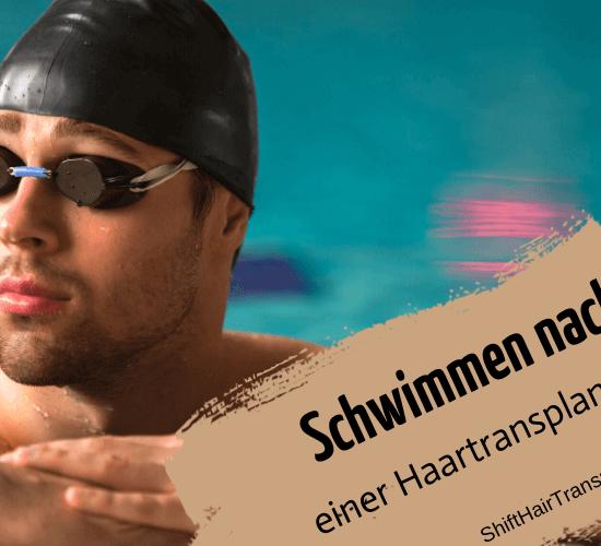 Schwimmen nach einer Haartransplantation 1
